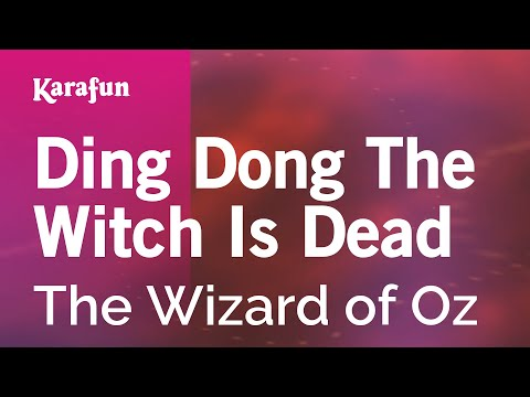 Is wicked dong ding witch dead download the glee