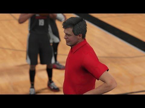 NBA 2K16 PS4 My Career - Cheating in Practice!