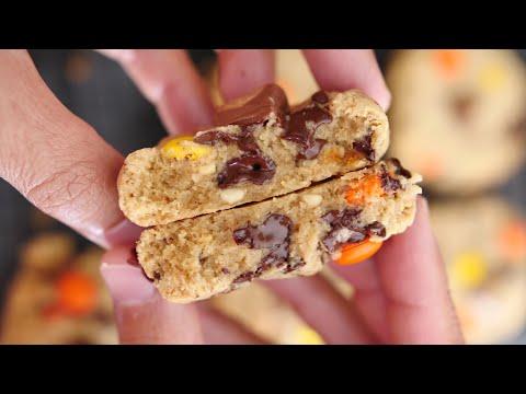 cookies-chocolat-beurre-de-cacahuete-recette-rapide-et-facile