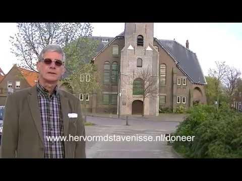 Uitleg restauratie Hervormde kerk te Stavenisse