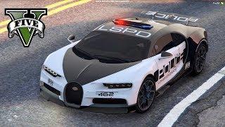 POLICYJNE Bugatti Chiron VS ZŁODZIEJASZKI! - FiveM czyli GTA Online - Hogaty i Sylo #05