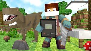 Minecraft: CIRURGIA EM DINOSSAUROS E PLACA DO YOUTUBE !!