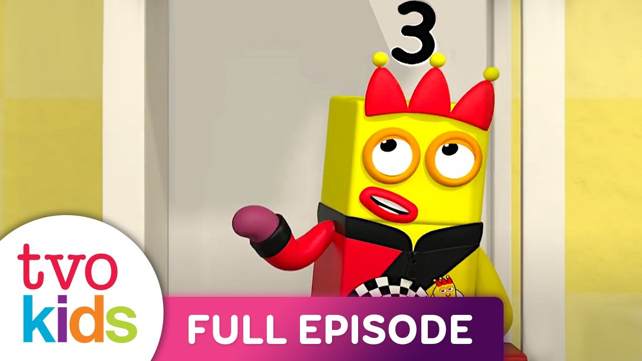Numberblocks - Divide and Drive - Full Episode