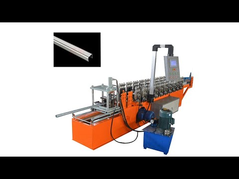 Egypt market used U channel stud furring light keel roll forming machine