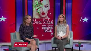 Gwen Stefani On Performing with Blake Shelton On Her Christmas Special