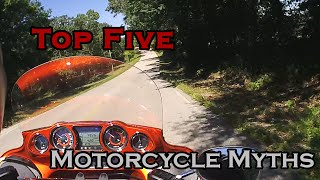 TOP FIVE: Motorcycling Myths