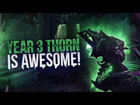 Destiny: Rose of Corruption Thorn Crucible Highlights! Year 3 Thorn is Awesome!