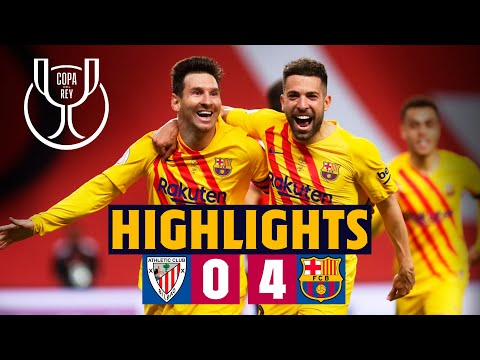 🏆 HIGHLIGHTS ATHLETIC 0-4 BARÇA COPA DEL REY 2021 FINAL CHAM
