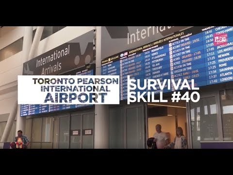 Survival Skills: Toronto Pearson International Airport | ILAC Arrival Survival Tips
