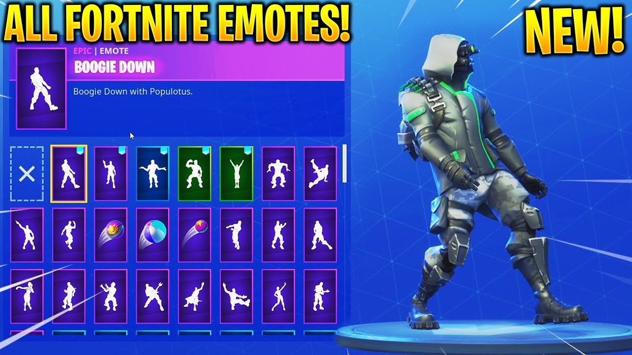 NEW ARCHETYPE SKIN SHOWCASE WITH ALL FORTNITE DANCES Amp EMOTES New Fortnite Twitch Prime