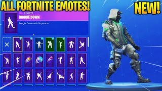 *NEW* ARCHETYPE SKIN SHOWCASE WITH ALL FORTNITE DANCES & EMOTES! - New Fortnite Twitch Prime Skin!?
