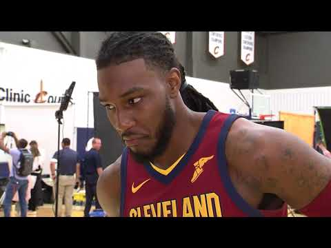 Jae Crowder on opportunity to play with LeBron, what drives him | CAVS MEDIA DAY