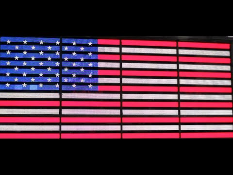 Sights & Sounds: American Flag - USA - United States of America