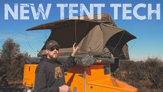 """It's so dark in here! - Roof Top Tent """"Light Suppression Technology"""" (First Look)"""