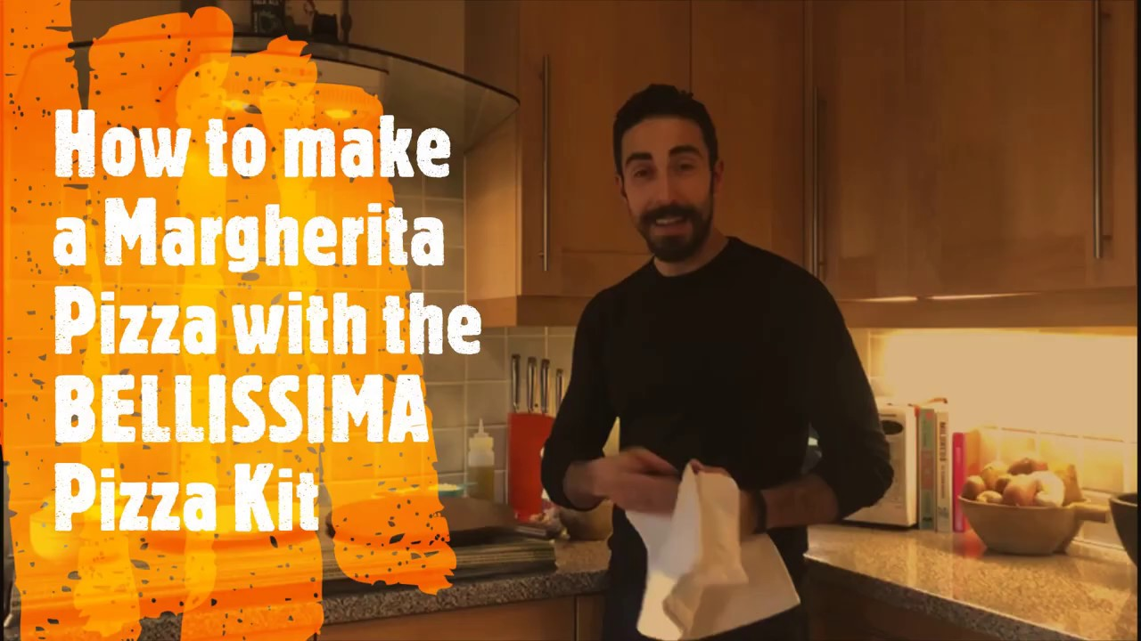 How to Make a Margherita Pizza with BELLISSIMA Pizza Kit