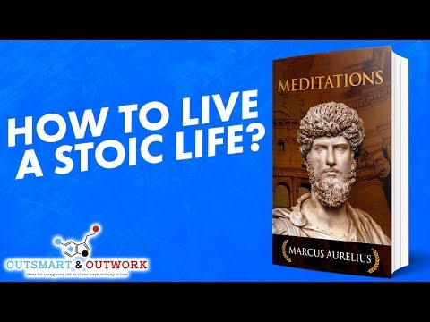 How to live a stoic life ? Meditations by Marcus Aurelius ► ANIMATED BOOK REVIEW