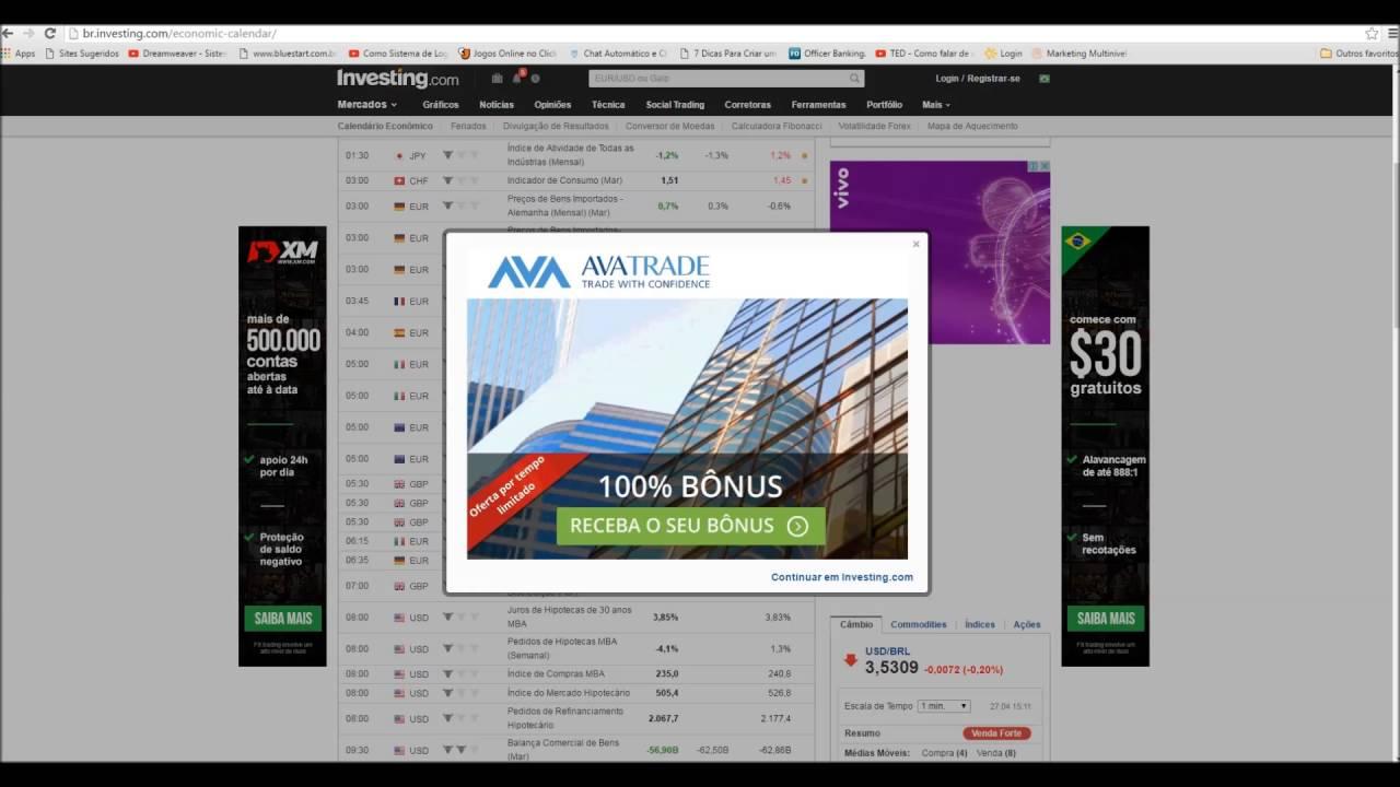 Investingcom Calendario Economico.Importancia Do Calendario Economico