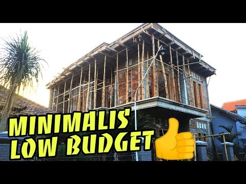 Bangun Rumah 2 Lantai 100 Juta Di Lahan Sempit Paling Sederhana Youtube