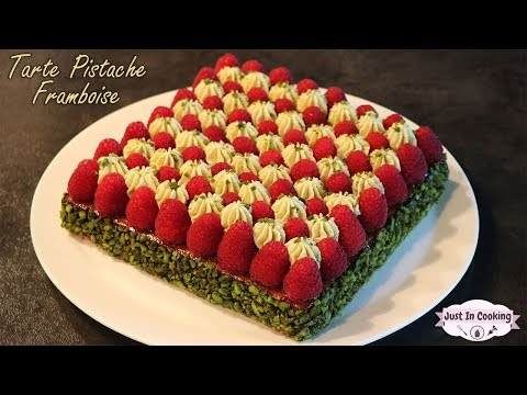 recette-de-tarte-pistache-framboise