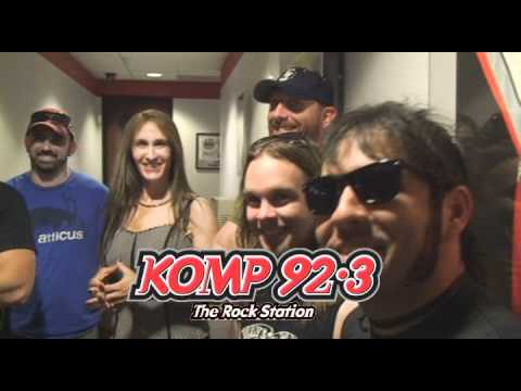 Unearthed at Pole Position in Las Vegas with KOMP 92.3 The Rock Station
