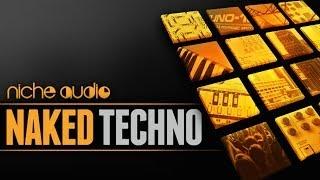 Naked Techno - Maschine Expansion Ableton Kits - Niche Audio