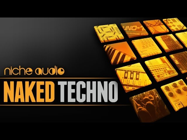 Naked Techno - Maschine Expansion & Ableton Kits - Niche Audio #1