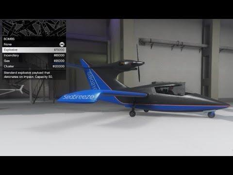 Customize Your Car Online >> GTA 5 DLC Aircraft Customization (Seabreeze) - YouTube