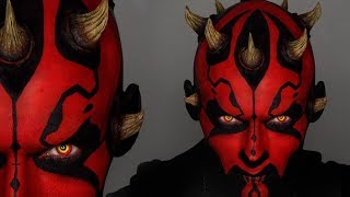 Darth Maul Halloween Makeup Tutorial | Star Wars Cosplay | Shonagh Scott