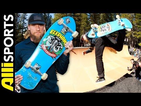 Mike Vallely's Elephant Skateboards Setup, Alli Sports