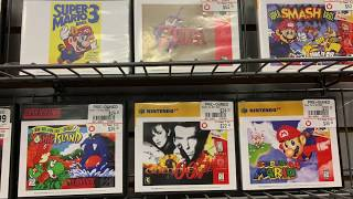 Gamestop Is Now Selling Retro Games In Store!!!!