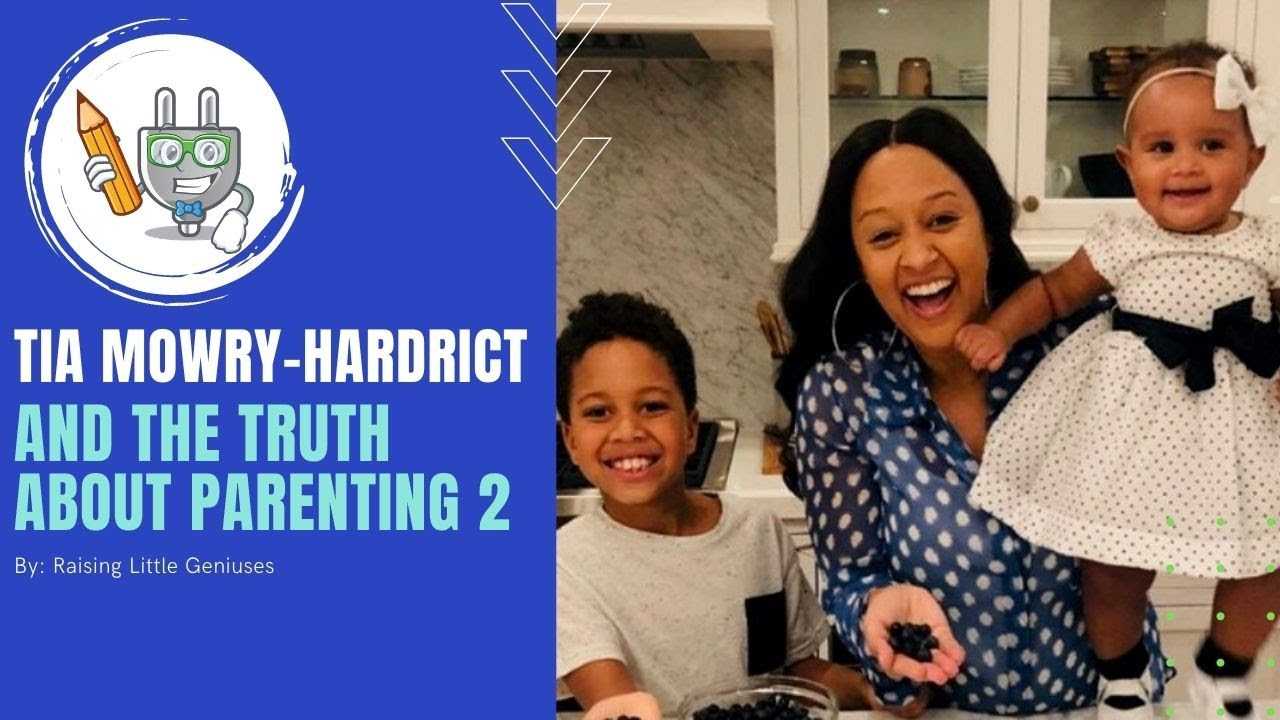 Tia Mowry's Quick Parenting Tips | Raising Little Geniuses