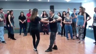How to Brazilian Zouk Dance Basic Steps | Latin Dance Tutorial