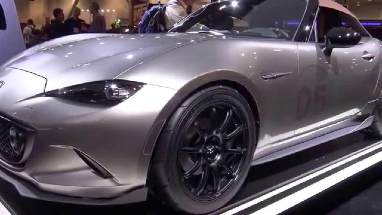 Mazda MX-5 SPYDER -SEMA 2015- - YouTube