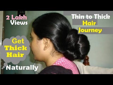 How to get Thicker Hair Naturally - Grow your Hair fast with Amazing Remedies
