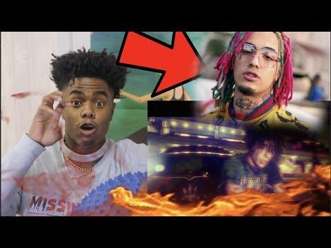 "ohtrapstar - ""Choppa"" [OFFICIAL MUSIC VIDEO] Prod.Kidkeva REACTION!! NEXT LIL PUMP?!?"