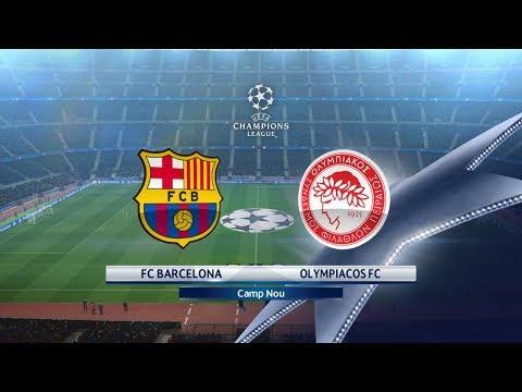 Barcelona vs Olympiacos | 18/10/2017 | UEFA Champions league 2017/2018 Highlights