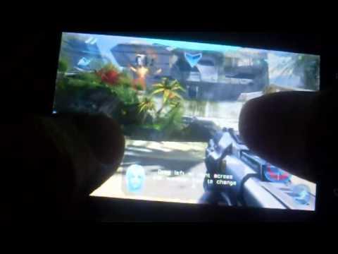Huawei u8800/ ideos x5 N.O.V.A. 2 - Near Orbit Vanguard Alliance HD gameplay