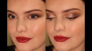 Simple Festive Makeup | Green Beauty | BellaIzzy