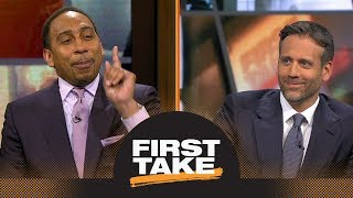 Stephen A. shuts down Max's pick for 2018 NBA MVP for one major reason | First Take | ESPN
