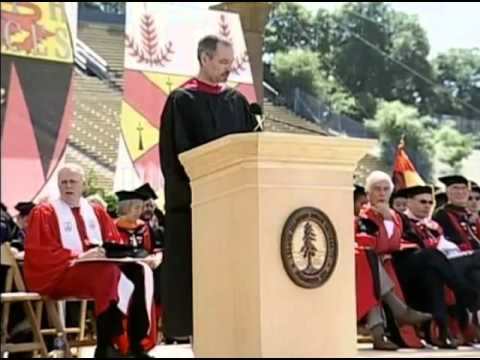 """steve jobs stanford university commencement speech From the first line of his speech, steve jobs immediately begins to appeal to the   at your commencement from one of the finest universities in the world"""" (jobs."""