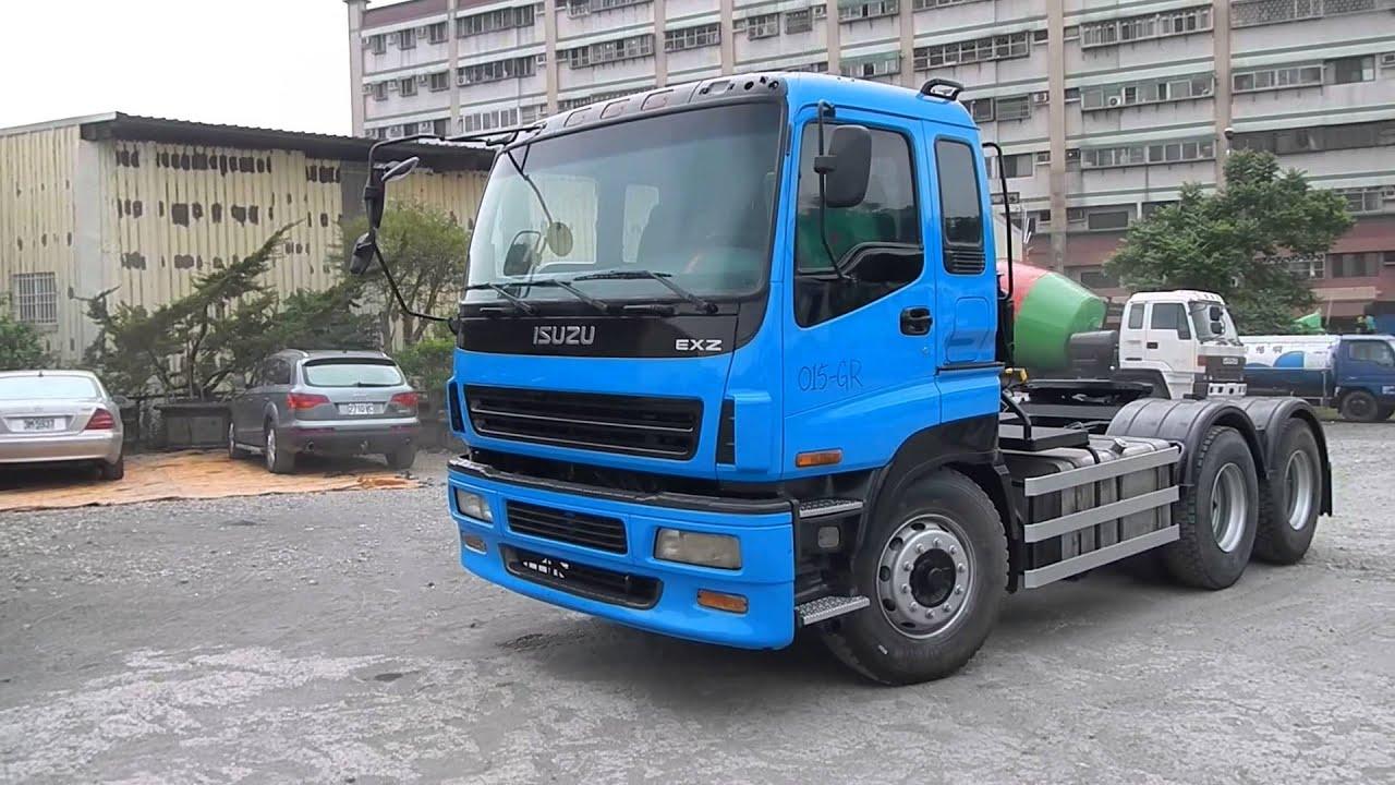 Tractor Trailer Head On : 拖頭 used isuzu tractor trailer head gr