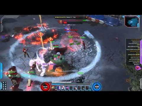 Marvel Heroes Cosmic Industry City Patrol