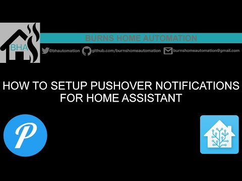 How to setup Pushover notifications for Home Assistant