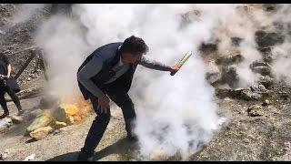 Stoking a Volcano Like Lucifer Himself