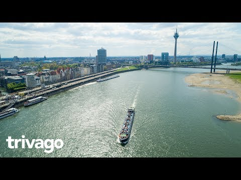 Düsseldorf: A place at the Rhine