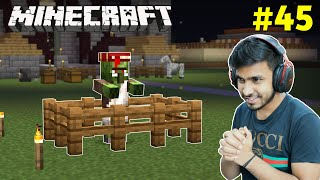 I CURED AN INFECTED ZOMBIE VILLAGER | MINECRAFT GAMEPLAY #45