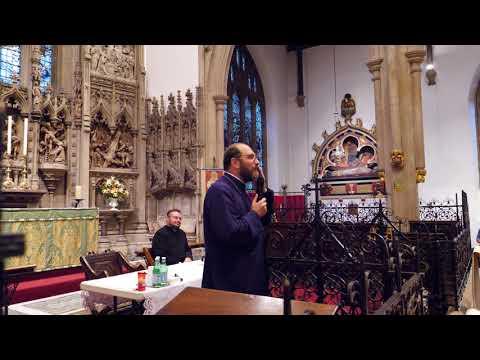 Parintele Constantin Necula la Londra Kingsbury
