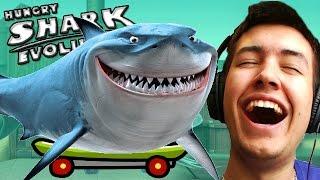 SHARK ON A SKATEBOARD! - Hungry Shark Evolution