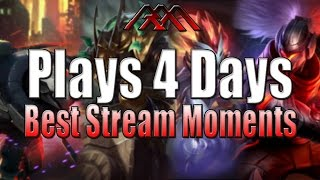 Plays 4 Days - Best Stream Moments #17 - League of Legends