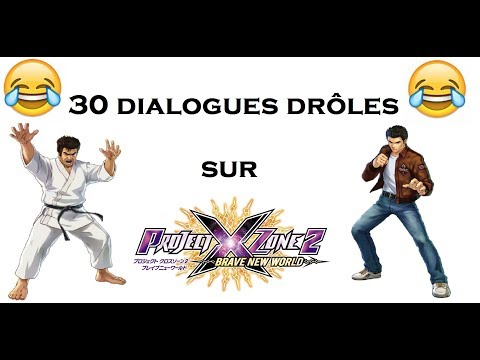 30 dialogues drôles sur Project X Zone 2 - MDRlol